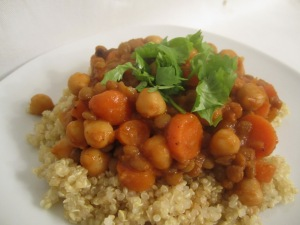 Chickpea & Lentil Curry
