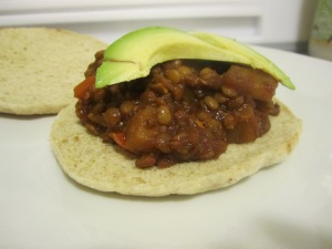 Sloppy Veg 'n Lentil Joes