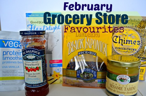 feb grocery store favs